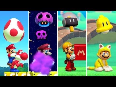 Super Mario Maker 2 - All New Power Ups