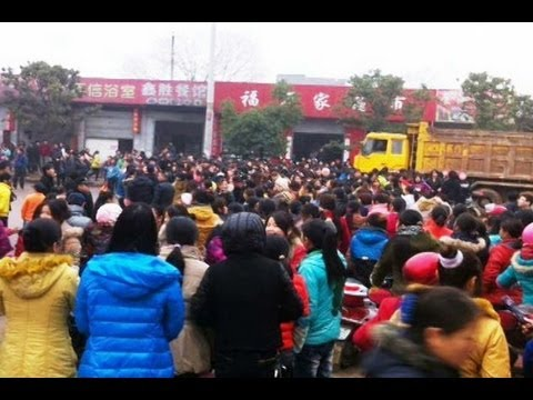 Wage Protest hit Foxconn Supplier in Jiangxi