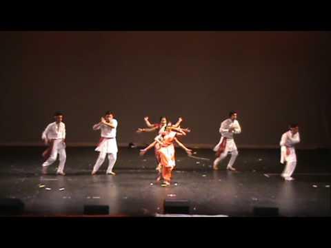 NU Tarang 2009 Gondhal (Ude Ga Ambe Ambe) Dance
