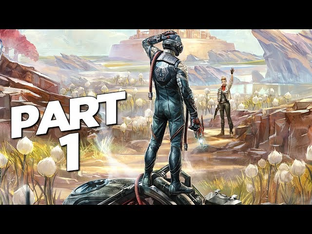 THE OUTER WORLDS Walkthrough Gameplay Part 1 - INTRO (FULL GAME) thumbnail