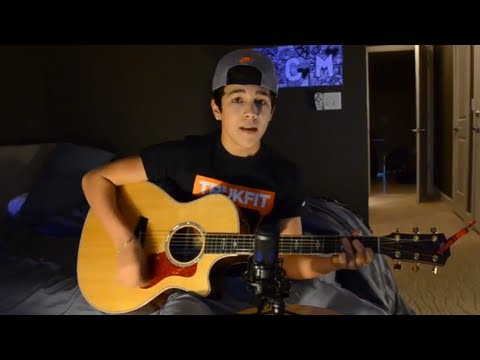 One Direction - more Than This Austin Mahone Cover video
