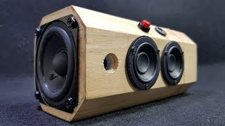 Building Bluetooth Speaker with Wooden Tea Box