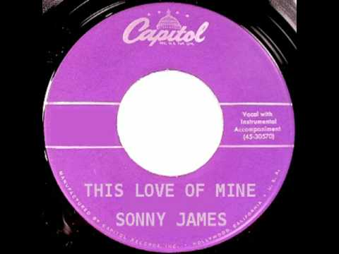 SONNY JAMES - This Love of Mine (1959)