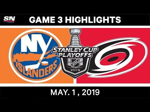 NHL Highlights | Islanders Vs. Hurricanes, Game 3 – May 1, 2019