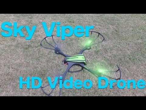 Sky Viper HD Video Drone (v950HD) Full Review