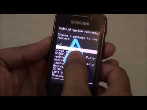 Installing CREED Custom ROM on Samsung Galaxy Y S5360 - Installation Guide