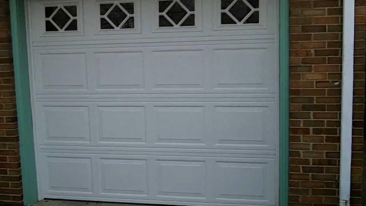 Wayne dalton 8300 discounted garage doors youtube