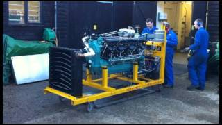 Klimov Yak 1 Engine Run