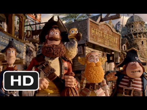 The Pirates! Band of Misfits - (2012) Exclusive New Trailer