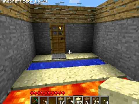 Различные механизмы в Minecraft   4 серия, 1 часть