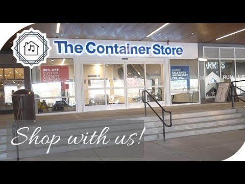 Shop With Me | Container Store & Polka Dog Bakery thumbnail