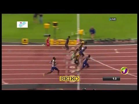 Usain Bolt tewas dalam final 100m Kejohanan Olahraga Dunia 2017