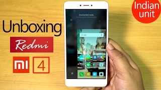 REDMI Note 4 (INDIAN unit) Unboxing & Hands on REVIEW! (4K)