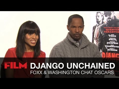 Jamie Foxx and Kerry Washington respond to Django Unchained Oscar nominations
