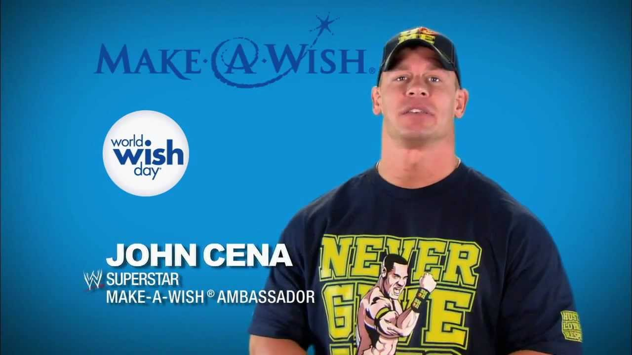 Join John Cena And Make A Wish With World Wish Day YouTube