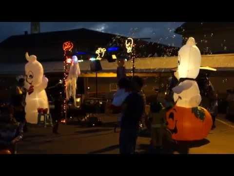 Trunk N Treat at St Columban School - Halloween 2014