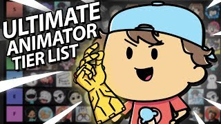 Youtube Animator Tier List