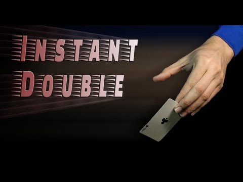 Instant Double - How to do a double lift easier and faster
