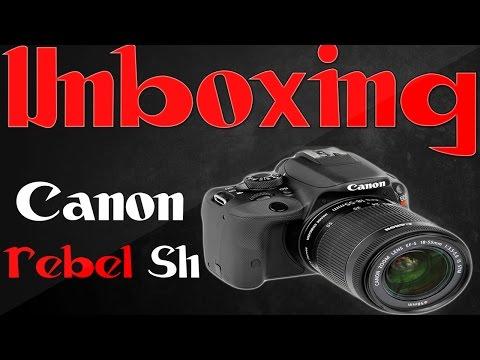 CANON 100D Unboxing