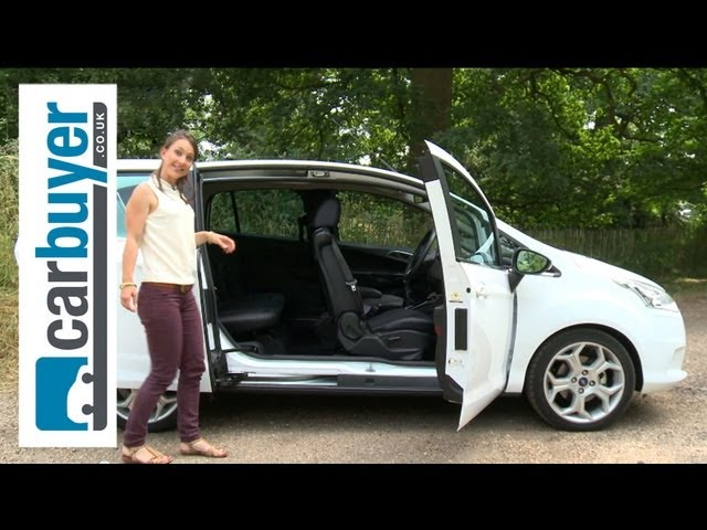 Ford B-MAX MPV 2013 review - CarBuyer - YouTube