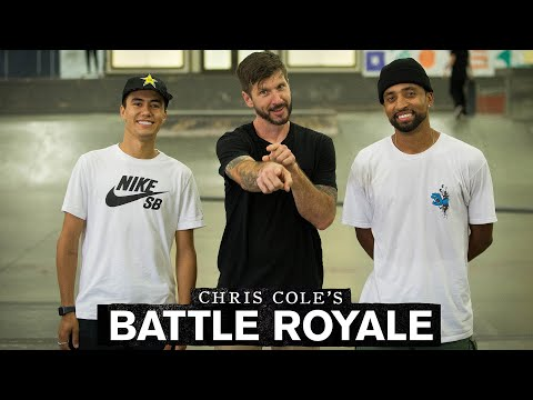 Chris Cole Battles with Maurio McCoy, Ivan Monteiro, Felipe Gustavo, AND Dane Burman | Battle Royale