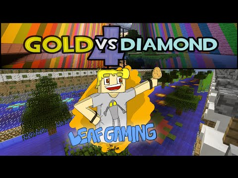 Minecraft: Gold vs Diamond Race V4 w/Sarp - Some Sucuk?
