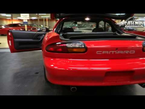 2002 Chevrolet Camaro SS Z28 for sale at Gateway Classic Cars in St. L