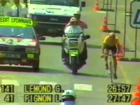 Greatest Tour de France Finish, 1989!