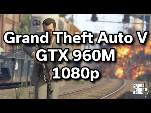GTA V - i5-6300HQ - GTX 960M - $800 Dell Gaming Laptop - Game Performance Review