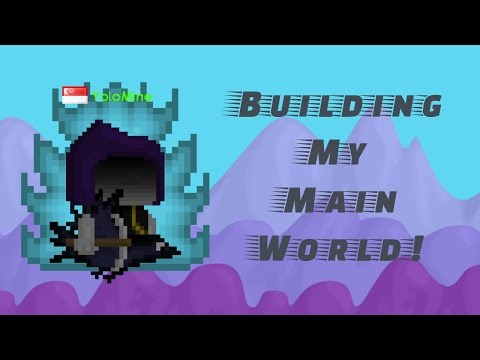 Growtopia | Building My Main World! #1