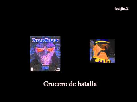 Starcraft 1 unidades - Terran y Zerg frases - Español