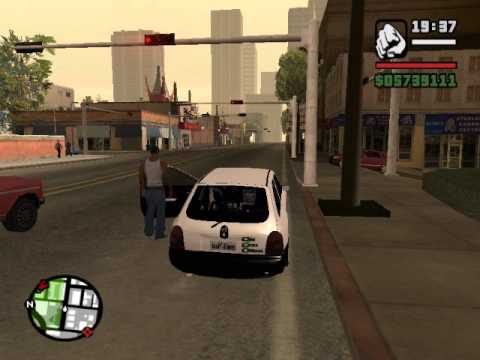 GTA SA - Corsa mais baixo do mundo
