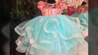 New beautiful top frocks baby girls dress