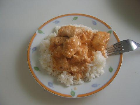 Индюшиная грудка с рисом