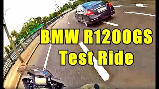 BMW R1200GS Test ride.
