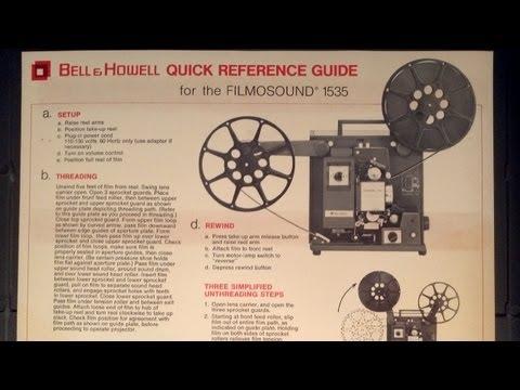 16mm Projector Tutorial