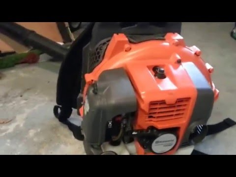 HUSQVARNA 150BT BACK PACK BLOWER REVIEW