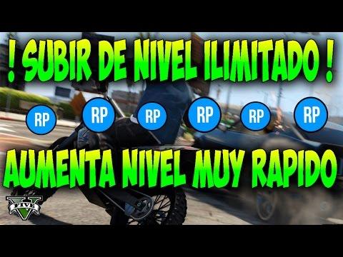 RP ILIMITADO !! Truco GTA 5 Online: Como subir de NIVEL MUY RAPIDO