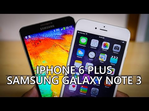 iPhone 6 Plus vs Samsung Galaxy Note 3 – Quick Look