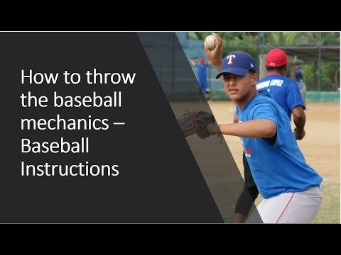 Mecanica y entrenamiento para lanzar la pelota de beisbol correctamente - Alejandro Tavarez
