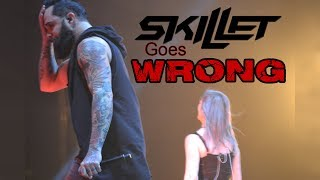 Download Lagu Skillet Goes WRONG at Winter Jam 2018! . . . (Then gets EPIC!) Gratis STAFABAND