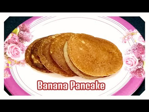 Banana Pancakes Recipe in Telugu | Fluffy Banana Egg Pancakes | Healthy breakfast for kids