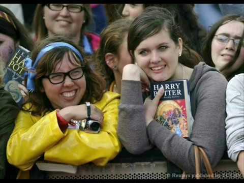 Зачем читать книги про Гарри Поттера? Буктрейлер.