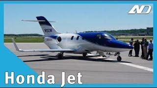 Honda Jet - Si, me invitaron a dar una vuelta en el nuevo avión de Honda!
