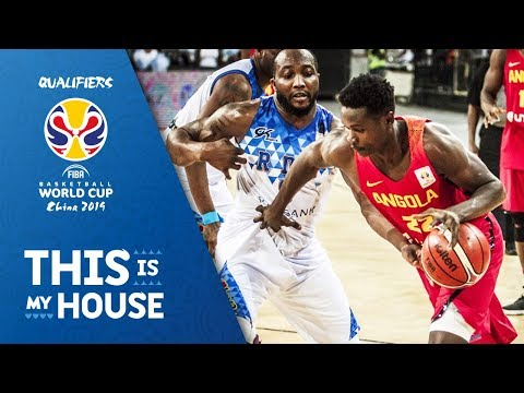 Dem.Rep. of Congo v Angola - Highlights - FIBA Basketball World Cup 2019 - African Qualifiers