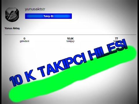 İNSTAGRAM SINIRSIZ TAKİPÇİ KASMA SİTELERİ !!! - YouTube