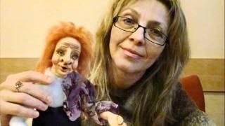 Мастер Класс авторская кукла