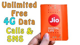 Jio gives free data on jio cloud // Bumper offer 2018