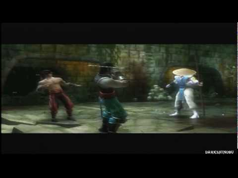 Mortal Kombat: Shaolin Monks - PS2 - Intro. Goro's Lair - 01