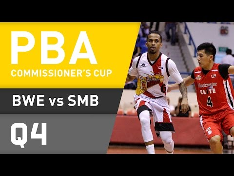 BLACKWATER VS. SAN MIGUEL - Q4 | Commissioners Cup 2016